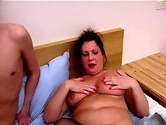 Busty Mom Helga and Slava 2