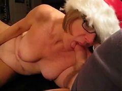 Granny Head #30 Down Mrs Claus Throat