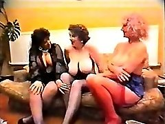Busty Pat Wynn AKA Auntie Jane Millie Minchen and a friends