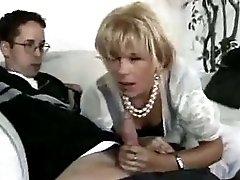 Neighbor boy fucks his best friend mature milf mom