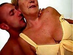 Hot Curvy Euro Granny Banging