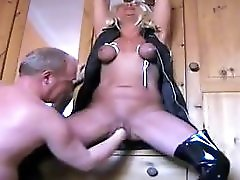 Mature wife tortured and squirting