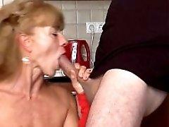 Hairy German Grandma Loves Anal R9
