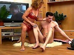 Hot mature mom boy hard cock