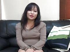 47 year old Asian MILF creampie