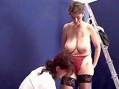 Nice sized tits