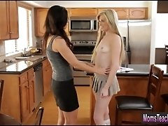 Baileys stepmom india give help with guy