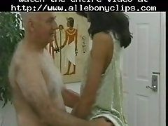 Old man and a young asian black ebony cumshots ebony s