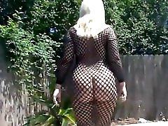 Beauty sexy ass walking