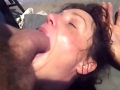 Mature brunette can't deepthroat very BWC kcxxx