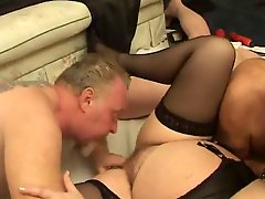 Fat Old Whore Gets Fucked