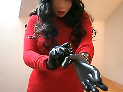 Clothed Latex Dolly