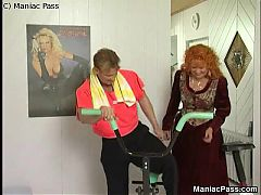 Old fat redhead gets drilled