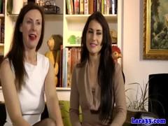 Gorgeous mature brit goes lesbian