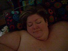 Handjob facial SSBBW blonde wife MILF whore