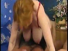 Nice saggy mature tits