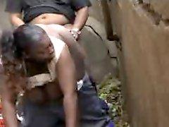 Black Crackhead in the Slum