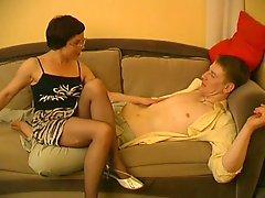 Pantyhose show 2 Ethel