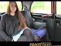 Young British Innocent Teen & Student Violated By Dirty Old Taxi Driver!