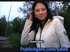 PublicAgent Outdoor blowjob and fucking with young Czech babe