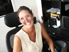 Mature Handjob #2 Father's Wife