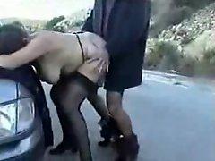 Mature street whore