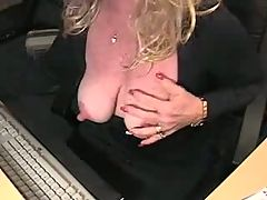 Mature big nipple