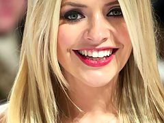 Holly Willoughby Jerk off challenge