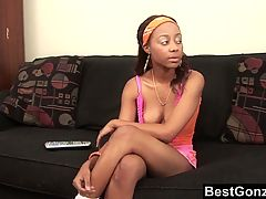 Black Stepdaughter Doing What She Does Best
