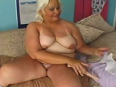 Hot Blonde Mature fucked