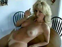 German Milf eats Sperm