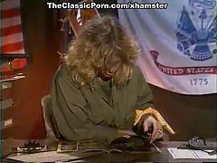 Julianne James Tracey Adams Aja in vintage porn movie