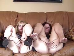 Chubby Mature Women's Interview 1 F70