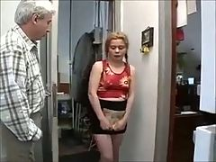Not Granddaughter Calls Round For Her Weekly Fuck !