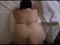 SSBBW Mature Wobbly White Fat Ass in Slow Motion