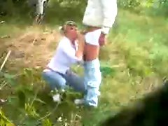 Dogging MILF wife with Stranger