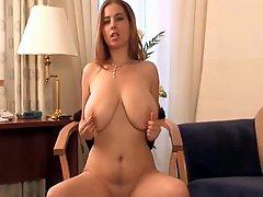 Hot Girl Using Her Dildo BVR