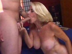Old granny witch thes saggy tits 2