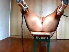 Tied wife homemade anal