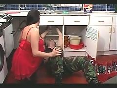 Two scenes of fantasies of mature housewives