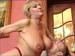 Horny Mature Woman and young Guy F70