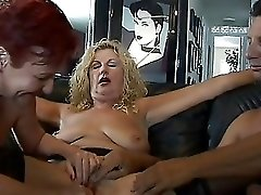 Two matures and lucky guy2