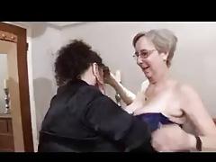 Lesbian Granny Scene