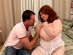Huge boob Redhead fuck