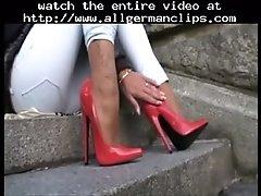 Lgh tamia public extrem heels und nylons german ggg s