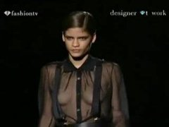 Oops Lingerie Runway Show See Through and nude on TV Compilation