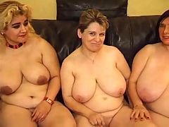 3 BBW's Playing With Each Other