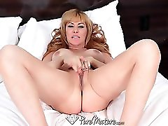HD PureMature Sasha Seans man has hot plans for her tight pussy