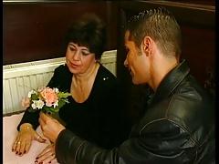 Granny in a Restaurant R20