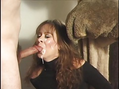 Amateur MILF blowjobs and facials slomo compilation